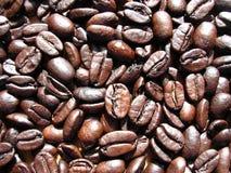 Fine del chicco di caffè in su Immagine Stock Libera da Diritti