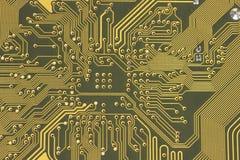 Fine del circuito elettrico in su Fotografia Stock
