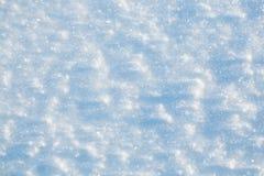 Fine del fondo di struttura della neve su Immagini Stock