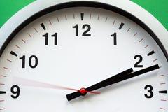 Fine del fronte di orologio in su immagini stock