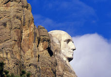 Fine del George Washington in su Immagini Stock