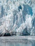 Fine del ghiacciaio di Marjorie in su Immagine Stock Libera da Diritti