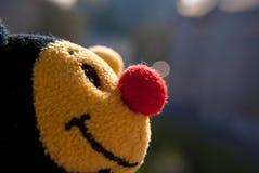 Fine del giocattolo dell'ape su immagine stock