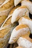 Fine del pane Immagini Stock