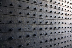 Fine del portone della fortezza su Fotografia Stock