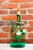 Fine del vino di brocca Fotografia Stock