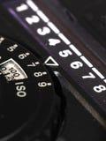 Fine dell'esposimetro su Fotografia Stock
