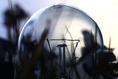 Fine della lampada della lampadina su Fotografia Stock