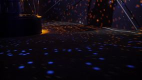 Fine della palla della discoteca dello specchio su archivi video