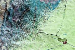 Fine della parete dei graffiti su fotografia stock