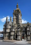 Fine della parrocchia in san Thegonnec in Brittany Immagini Stock