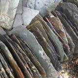 Fine della pietra dell'ardesia su fotografia stock libera da diritti