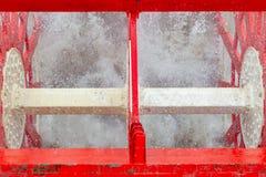Fine della ruota a pale della nave a vapore su immagini stock libere da diritti
