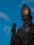 Fine della st Patrick in su Fotografia Stock