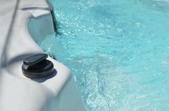 Fine della stazione termale di nuotata su immagine stock libera da diritti