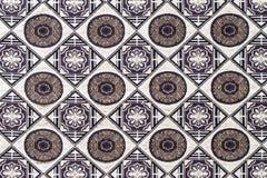 Fine della superficie della coperta di stile della Tailandia su tessuto d'annata Fotografia Stock