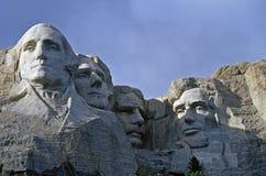 Fine della TA Rushmore in su immagini stock libere da diritti