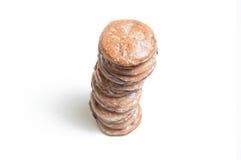 Fine della torre del biscotto su Fotografia Stock