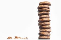 Fine della torre del biscotto su Fotografie Stock