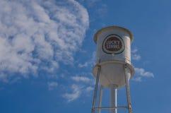 Fine della torre del tabacco su Fotografie Stock Libere da Diritti
