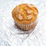 Fine della torta della tazza in su Immagine Stock