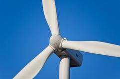 Fine della turbina di vento in su Immagine Stock