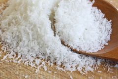 Fine Desiccated Coconut Royalty Free Stock Photos