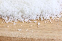 Fine Desiccated Coconut Royalty Free Stock Images