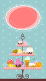 Fine Dessert Banner Royalty Free Stock Photography