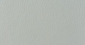 Fine di cuoio bianca pura di struttura della pelle macro sul fondo del modello fotografia stock