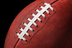 Fine di estremo di football americano su Immagine Stock