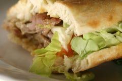 Fine di Kebab in su Fotografia Stock