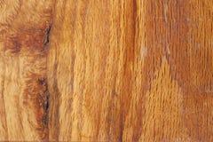 Fine di legno della superficie del comitato in su Fotografia Stock