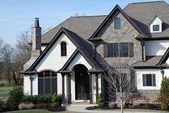 Fine di lusso della casa in su Immagine Stock Libera da Diritti