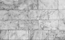 Fine di marmo bianca di struttura del pavimento su, senza cuciture Fotografie Stock Libere da Diritti