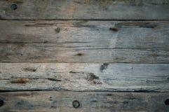 Fine di orizzontale della plancia del legname galleggiante su fondo Fotografia Stock