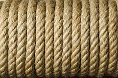 Fine di struttura della corda in su Fotografia Stock Libera da Diritti