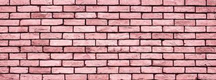 Fine di struttura della parete di Coral Brick su immagine stock