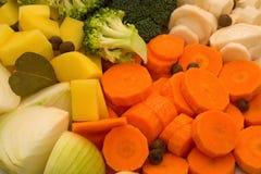 Fine di Vegetabele su Fotografia Stock