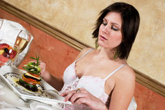 Fine dining Royalty Free Stock Photography