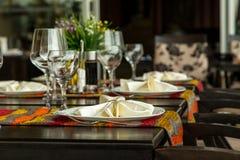 Fine Dinning Royalty Free Stock Photos