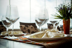 Fine Dinning Royalty Free Stock Image