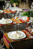 Fine Dinning Royalty Free Stock Images