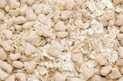 Fine dolce del porridge di muesli dell'avena su Fotografia Stock
