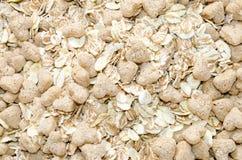 Fine dolce del porridge di muesli dell'avena su Immagine Stock Libera da Diritti