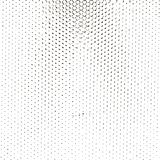 A fine dotted texture, black and white vector pattern. For your design Royalty Free Stock Image