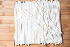 Fine dried noodles Stock Photo