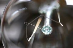 Fine elettrica della lampadina su Immagine Stock Libera da Diritti
