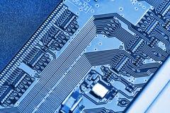 Fine elettronica del circuito in su Immagini Stock Libere da Diritti