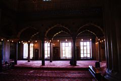 Fine example of ottoman Turkish architecture. Masterpieces stock photography